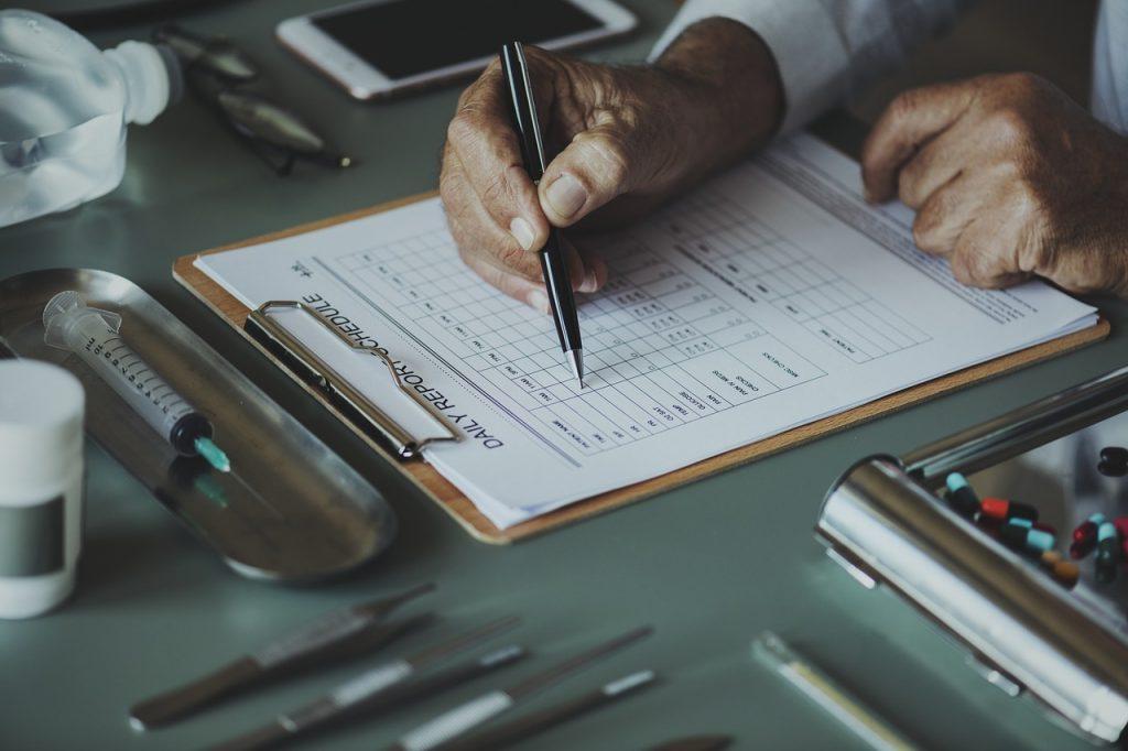 診断チェックリスト