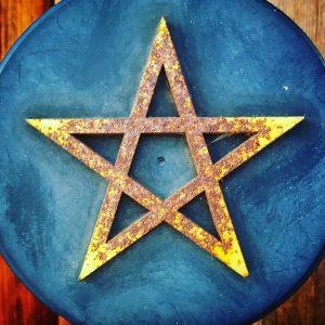 五芒星の写真