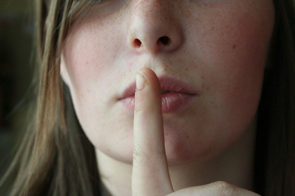 沈黙期間を設ける
