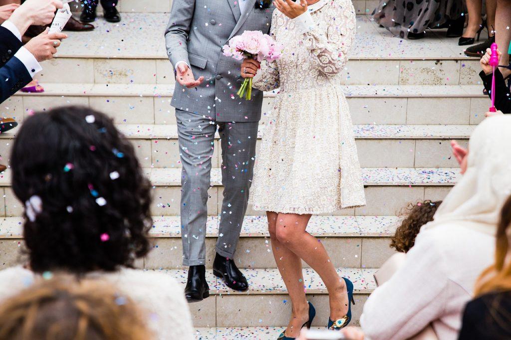 ④共通の友達の結婚式がキッカケで復縁!