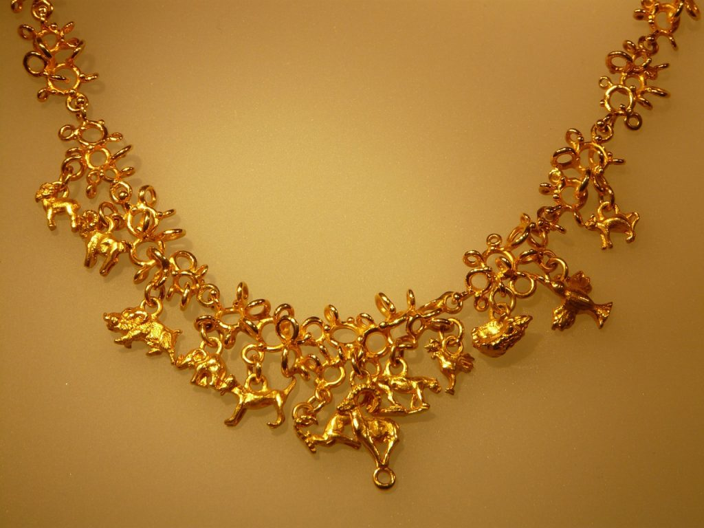 金のネックレスの復縁おまじない